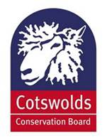 Cotswold Conservation Board sheep logo link off site